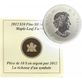 10 Dollar 2012 - Javorový list navždy