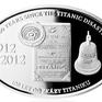 AR Medaile 2012 - 100 let od zkázy Titanicu, kolorováno, PROOF