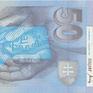 50 Koruna / 1. 8. 1993, II. vydání, přítisk 1999, Hej.SK28a, BHK.SK6b2    N/UNC