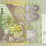20 Koruna / 20. 10. 2006, série S, Hej.SK48a1S, BHK.SK7gS   N/UNC