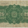 "Kanada, 25 Cents 1923, ""AUTHORIZED"", P.10"