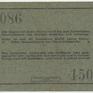 Německá Východní Afrika, 5 Rupien 1. 11. 1915, R.921a