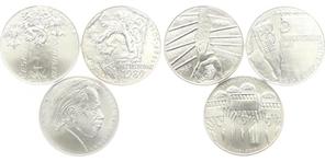 Sada medailí k 20. výročí 17. listopadu