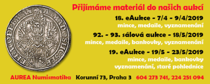 Aukce banner