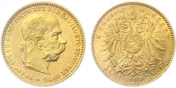 10 Koruna 1905 b.z.