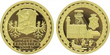 2500 Kč 2007 - Ševčínský důl Příbram, PROOF