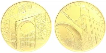 5000 Kč 2019 - Hrad Veveří, běžná kvalita