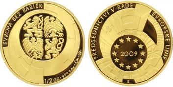 Medaile 2009 - Předsednictví ČR v Radě EU, PROOF