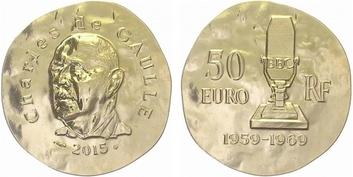 Francie, 50 EURO 2011 - Karel Veliký