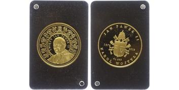Itálie, 40 Lira 1814 M - Milán, Au 0,900, 26 mm (10 g)