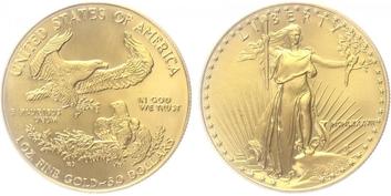 USA, 50 Dollar 2006 - Liberty, Au 0,9167 (33,931 g), 1 OZ