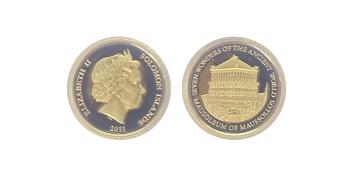 5 Dollar 2011 - Mauzoleum v Halikarnassu, PROOF
