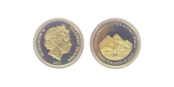 5 Dollar 2011 - Pyramídy v Gíze, PROOF