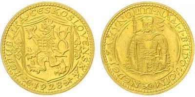 Zlaté mince a medaile