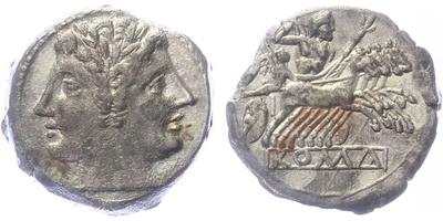 Anonymní ražby, 225 - 214 BC - Didrachma, A.083