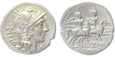 L. Sempronius Pitio - Denár, Crw.216/1, A.854