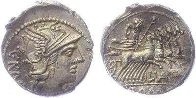 L. Antestius Gragulus - Denár, Alb.904