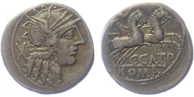 M. Porcius Cato - Denár, A.1029