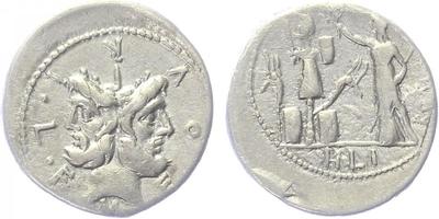 M. Furius Philus - Denár, A1043
