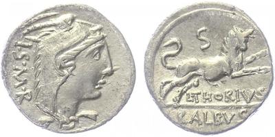 L. Thorius Balbus - Denár, A.1117