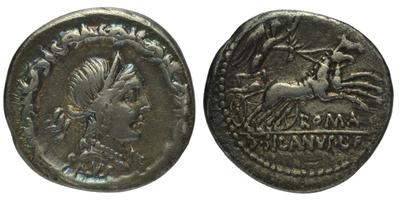 D. Iunius Silanus L. f. - Denár, A.1160