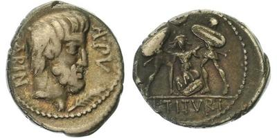 L. Titurius L. f. Sabinus - Denár, A.1198