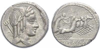 L. Iulius Bursio - Denár, A.1229