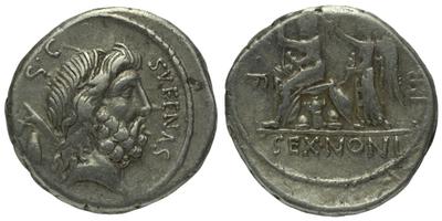 M. Nonius Sufenas - Denár, A.1342