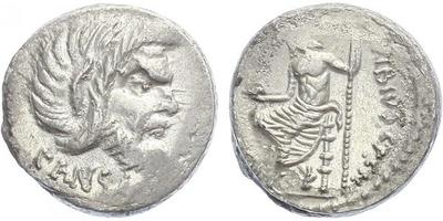 C. Vibius C. f. C. n. Pansa Caetronianus - Denár, A.1391