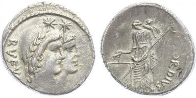 Mn. Cordius Rufus - Denár, A.1428