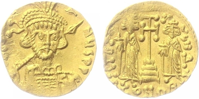 Constantin IV. Pogonatus - Solidus, Sear.1156