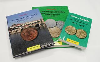 AKCE! 3x katalog československých mincí