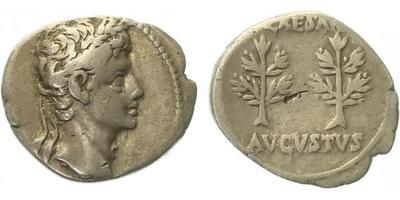 Augustus - Denár, RIC.51