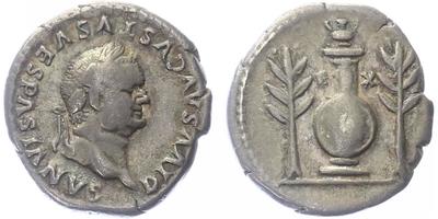 Vespasianus - Denár, RIC 62