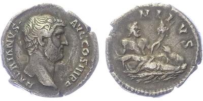 Hadrianus - Denár, RIC.310