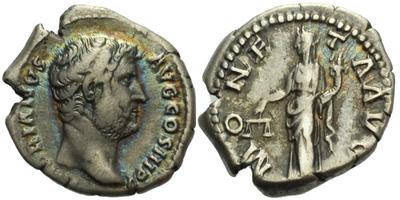 Hadrianus - Denár, RIC 256