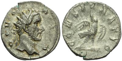 Antoninus Pius (Decius) - Antoninian, posmrtná ražba za Traiana Decia z let 249 - 250, RIC.89
