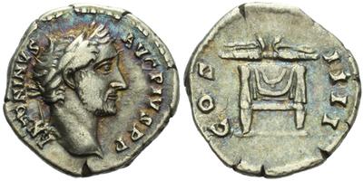 Antoninus Pius - Denár, RIC.137