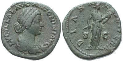 Lucilla (manželka Lucia Vera) - Sestercius, RIC.1735