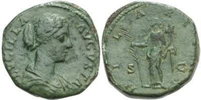 Lucilla (manželka Lucia Vera) - Sestercius, RIC.1742