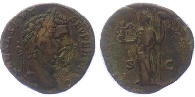 Septimius Severus - Sestercius, RIC.651