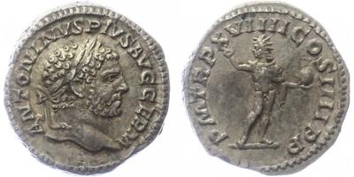 Caracalla - Denár, RIC.281b
