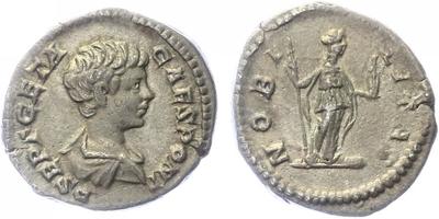 Geta, jako Caesar - Denár, RIC.96