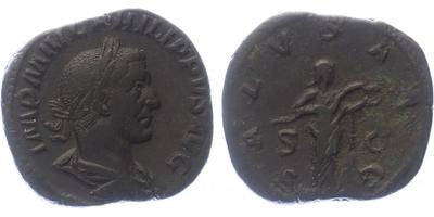 Philipus I. - Sestercius, RIC.186