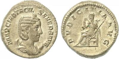 Otacilia Severa (manželka Philippa I.) - Sestercius, RIC.123c