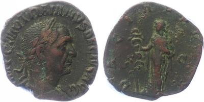 Traianus Decius - Sestercius, 249 - 251, RIC.114a