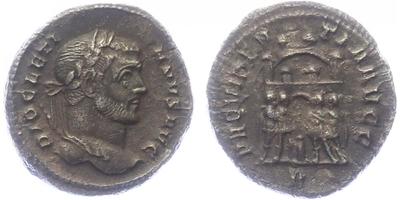 Diocletianus - Argenteus, RIC.030a
