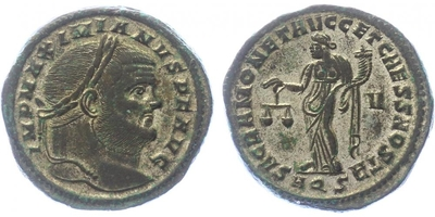 Maximianus - Follis, RIC.31b