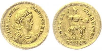 Valentinianus II., - Solidus, RIC.69b