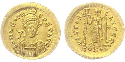 Leo I. - Solidus, RIC.605